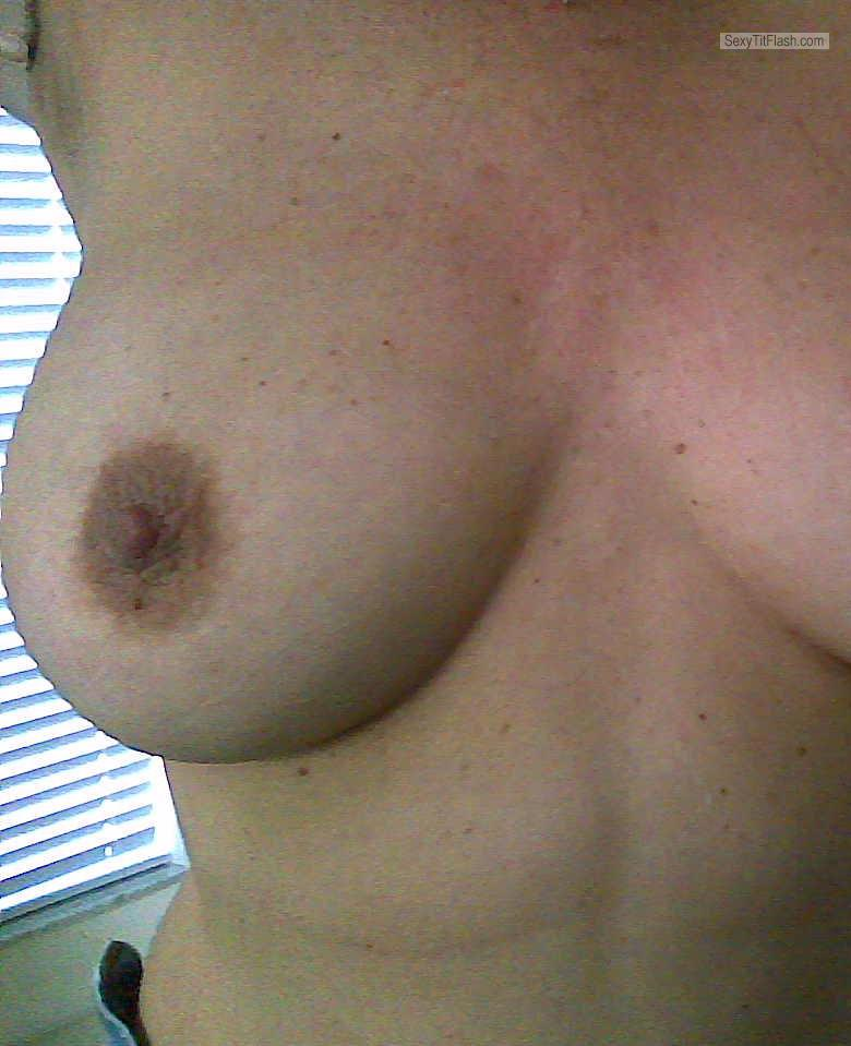 Tit Flash: My Big Tits - Maria from United Kingdom